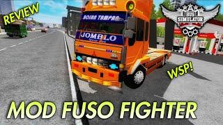 MOD BUSSID TERBARU 2019 || FUSO FIGHTER BY WSP!