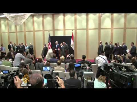 US government promises to review future Egypt funding