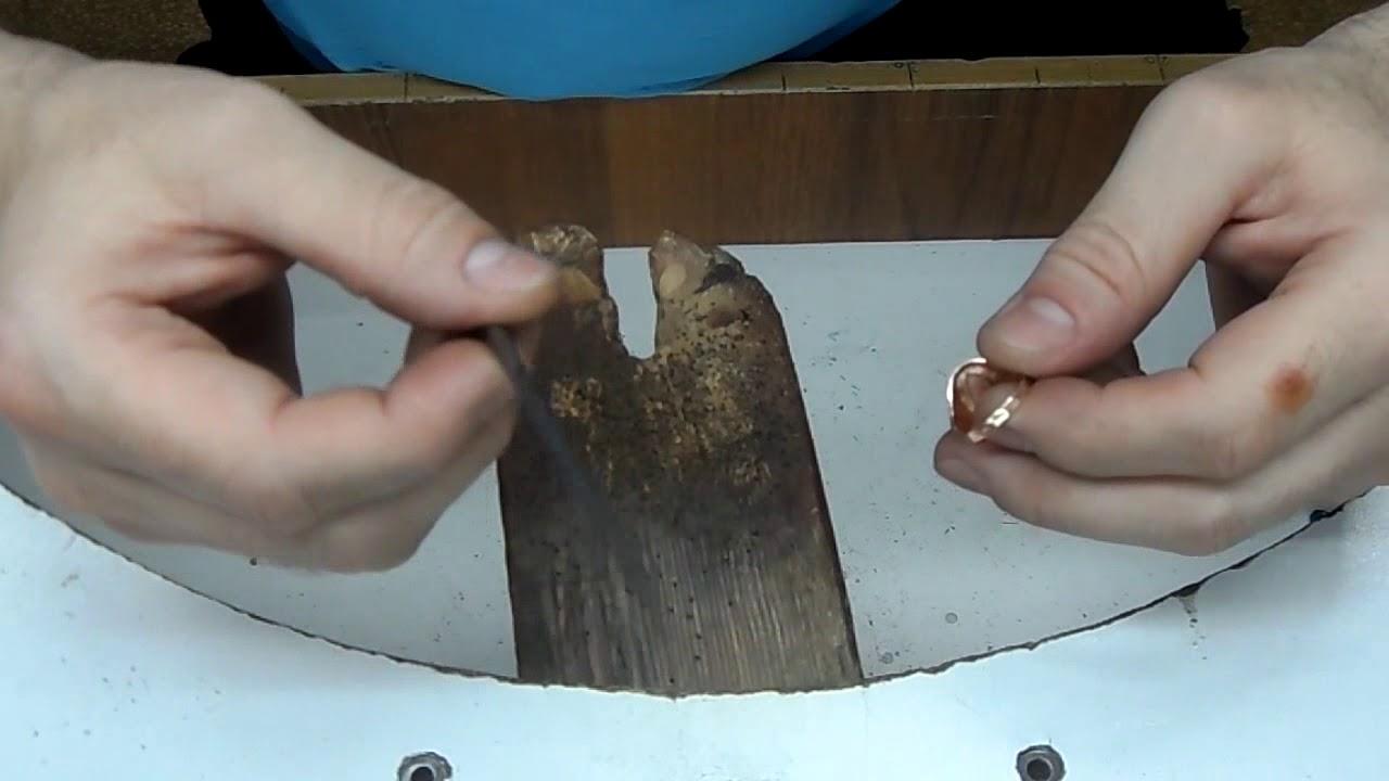 Как в домашних условиях увеличить размер золотого кольца в