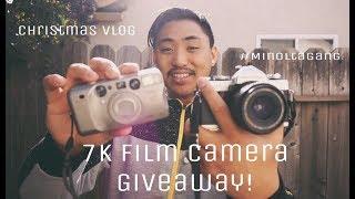 7K FILM CAMERA GIVEAWAY - CHRISTMAS VLOG
