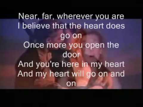 titanic my heart will go on lyrics by x pac jtx f5