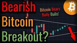 Bitcoin Ascending Triangle Threatens To Crash Bitcoin - Will It?