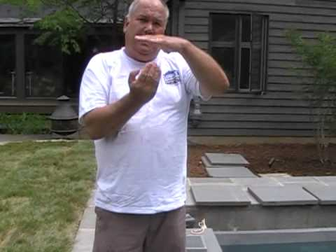 Augusta Aquatics, a Virginia swimming pool builder & contractor discusses about a residential concrete swimming pool skimmer. Filmed in Albemarle County Virg...