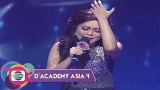 """BIKIN MERINDING!  Suara Emas Selfi Bawakan """"Cinta Berawan""""  Mendapat All Standing! - DA Asia 4"""