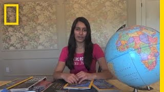 National Geographic Bee 2013 - NH Finalist