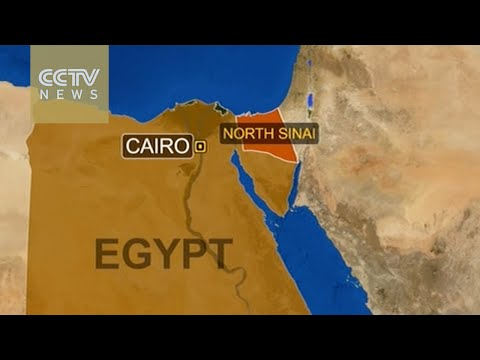 At least 3 Egyptian police killed in Sinai car bombing