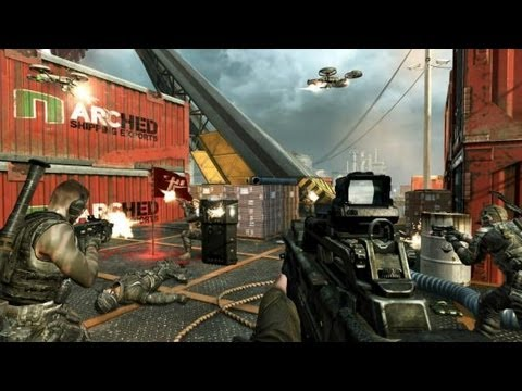 Black Ops 2 Full Multiplayer Gamescom Livestream - Competitive Matches Gameplay (DAY 2)