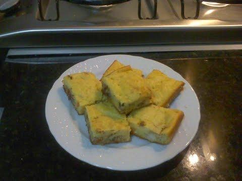 Torta De Palmito com Sardinha