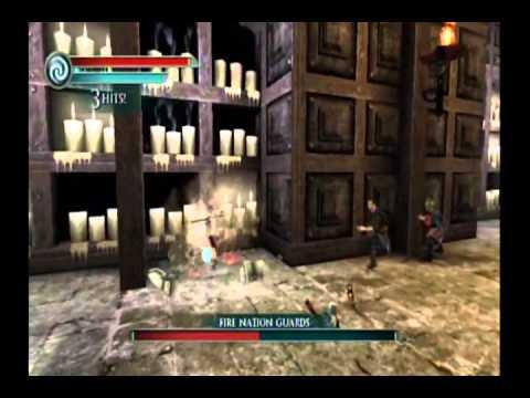 The Last Airbender Movie Game Walkthrough Part 4:2 (Wii)