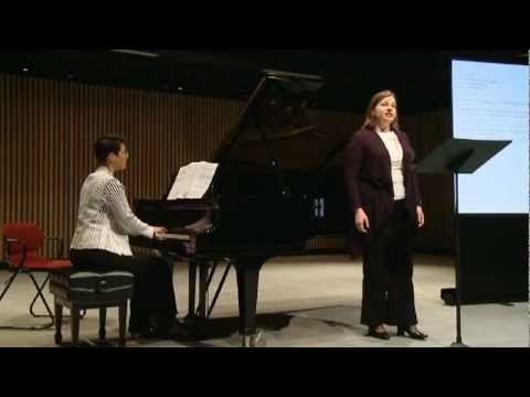 Welcoming (by Carrie Magin & Andrea Nicki) ( Lynne McMurtry, mezzo-soprano Alison d'Amato, piano)