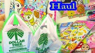 DOLLAR TREE $1 HAUL - Mermaid Dolls, Shopkins, My Little Pony + More Toys Cookieswirlc Video