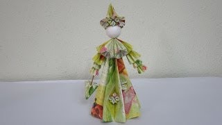 How To Make 3d Paper Doll - The English Rose