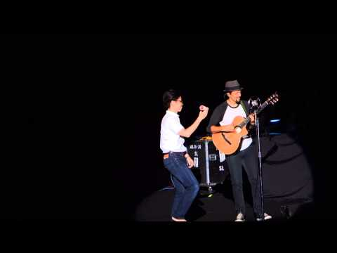 2014/11/30 Jason Mraz & Raining Jane - 'YES!' Tour - Be Honest @ TICC (Taipei)