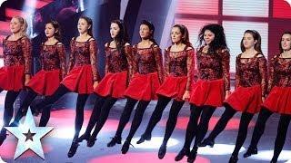 Innova Irish Dance Company are the belles of BGT   Britain