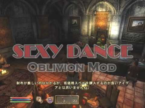 Oblivion Mod - Sexy Dance