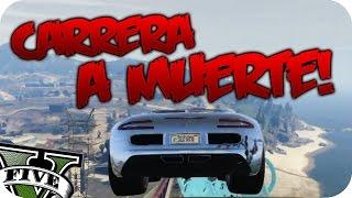 CARRERA...A MUERTE!! #210 | GTA V ONLINE FUNNY RACE c/YOUTUBERS | Por Flowstreet