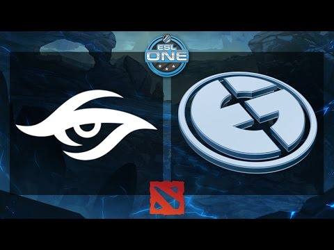 Dota 2 - Team Secret vs. EG - ESL One Frankfurt 2015 - Grand