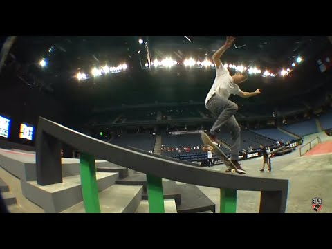 Street League 2012: Ontario Practice Quick Clip with Mikey Taylor