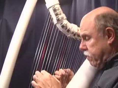 Daily Harp Moments-Pachelbel's Canon in D on PVC Harp Music Videos