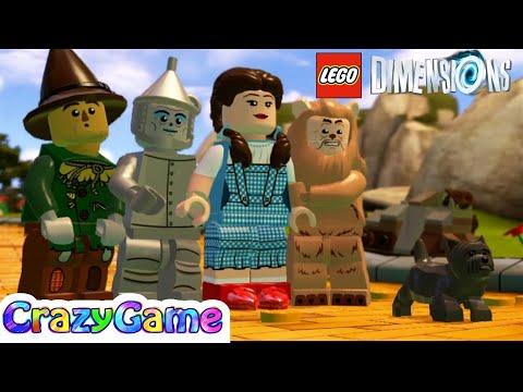 #LEGO The Wizard of Oz Mini Movie - LEGO Dimensions | Cartoon for Children & Kids