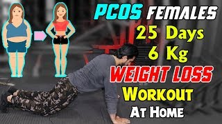 Weight Loss Workout For PCOS Female 25 Days Cycle Plan