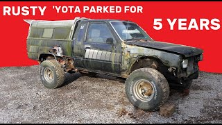 5 Year Cold Start, 1984 Toyota SR5 Pickup Truck