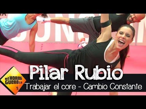 Pilar Rubio I Entrenamiento basado en el core I Cambio Constante