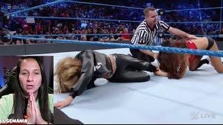 WWE Smackdown 11/29/16 Carmella Nikki Bella Feud