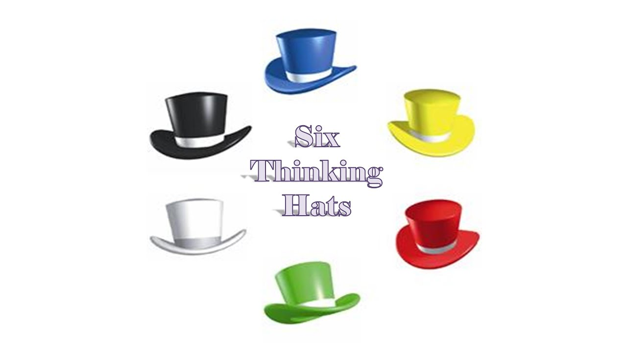 Pictures of six thinking hats