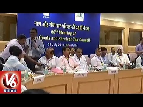Union Minister Piyush Goyal Chairs 28th GST Council Meet in New Delhi | V6 News