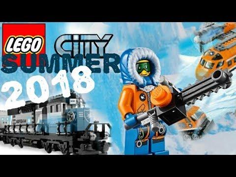 (733.87 KB) LEGO News: LEGO City Summer 2018 sets  (Arctic Exploration, Trains...) sets list