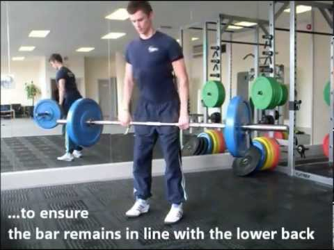 How to do a Romanian Deadlift Correctly- Correct Technique & Instructions (get STRONG hamstrings) Image 1