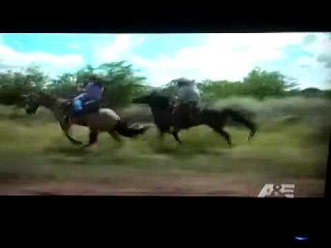 Fat chick falls off a horse. (freaken funmy)