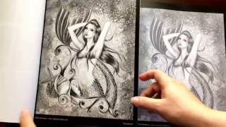 Spellbinding Images A Grayscale Fantasy Coloring Book