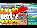 10 *NEW* GIFTED UPDATE CODES ON BEE SWARM SIMULATOR (Legendary Codes)