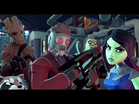 Disney Infinity 2.0 - Marvel Super Heroes - Guardians of the Galaxy Playset Walkthrough Part 1