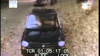 A bordo dell'AUTOBIANCHI A111 *auto rara*