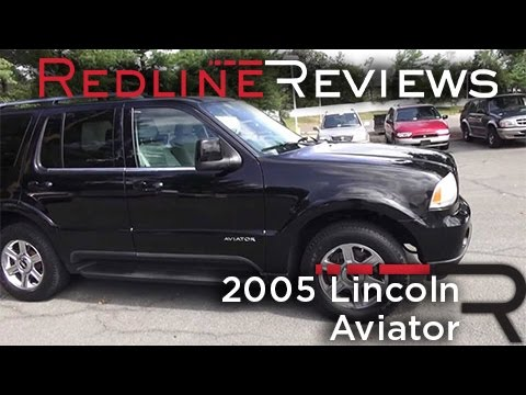 2005 Lincoln Aviator Review. Walkaround. Start Up. Test Drive