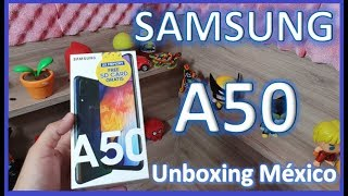 SAMSUNG A50 Unboxing Mexico