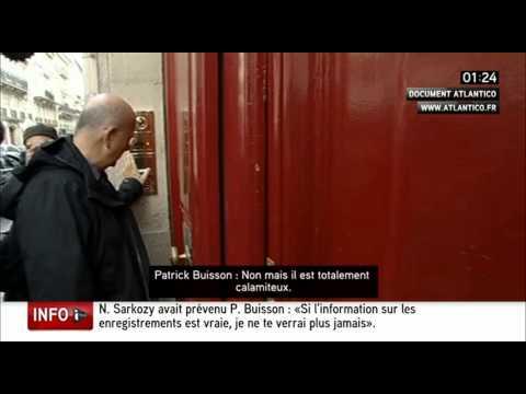 1--  VIDÉO - Nicolas  Sarkozy enregistré par - Patrick. Buisson --- 06/03/2014