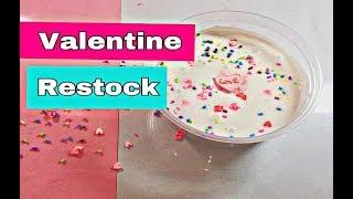 Slime Restock Valentine 💓💘. Slime ngày lễ tình nhân. Kimkitty channel