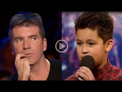 Simon Cowell Humiliates A 12 Year Old Boy video