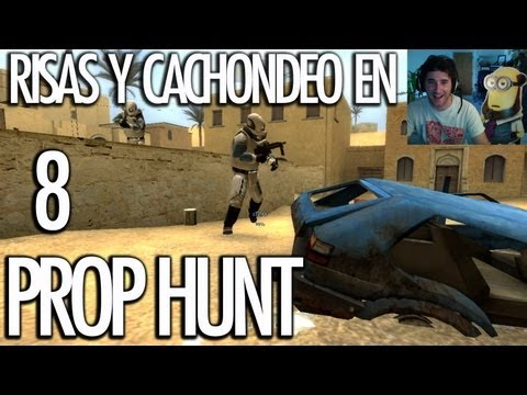 PROP HUNT 8: Risas y Cachondeo! Y RUFO!!! - [LuzuGames]