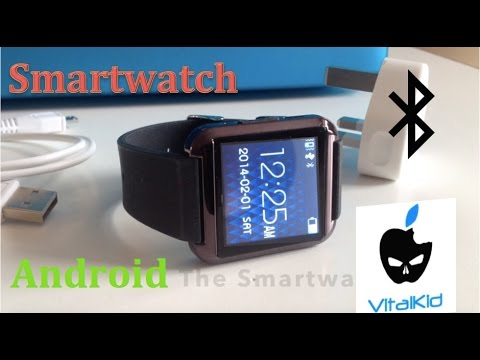 U8 Smartwatch for Android Cheap Review + How To Install BTNotification