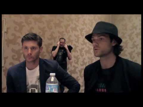 Jensen Ackles and Jared Padalecki Interview Supernatural Season 10