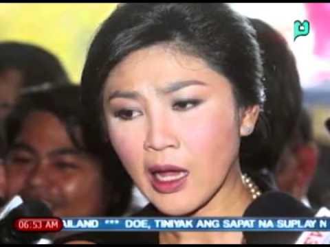 [Balitaan] Ex-Thai PM Yingluck Shinawatra, pinalaya na ng militar [05|27|14]