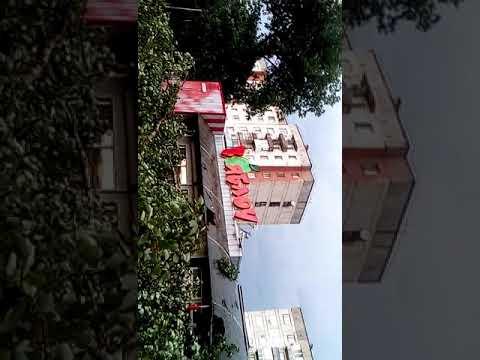 28.06.18.Ураган в городе Рубежное.Извиняюсь за перевернутое видео,снимала на телефон.