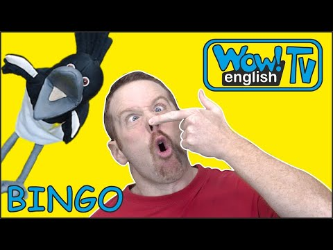 Bingo Dog Song and Story for Kids | Animals with Steve and Maggie | Learn Wow English TV