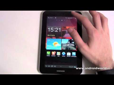 Samsung Galaxy Tab 7.0 Plus. recensione in italiano by AndroidWorld.it