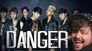 Mikey Reacts to BTS Danger Practice